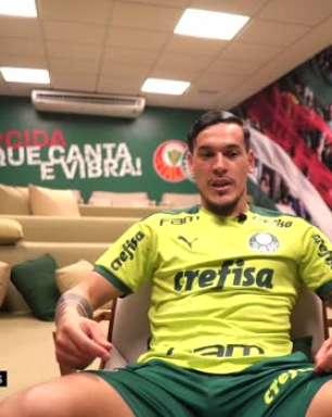 """PALMEIRAS: Gustavo Gómez sobre brigar por mais títulos: """"É uma motivação estar em um time grande porque você briga por coisas importantes"""""""