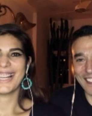 Andréia Sadi 'ameaça' bloquear André Rizek nas redes sociais por piada com derrota do São Paulo