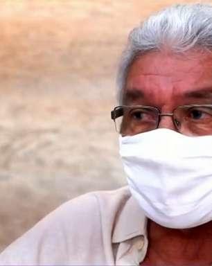Givanildo não poupa jogadores por possível rebaixamento do Santa Cruz: 'Tem uns que dormem'