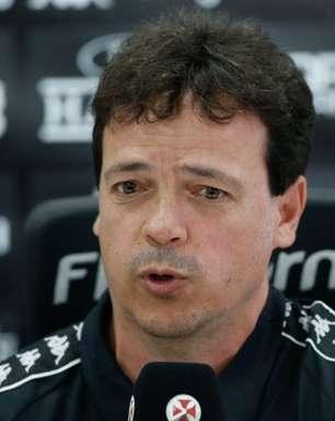 Apesar do empate, Fernando Diniz valoriza atuação do Vasco: 'Tem que partir desse patamar para melhor'