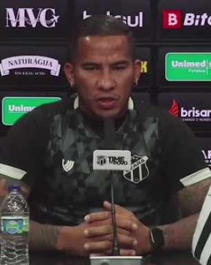 """CEARÁ: Jael faz balanço da terceira semana de Tiago Nunes, cita crescimento da equipe e garante sobre treinos: """"já está se tornando automático"""""""