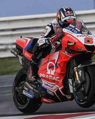 Zarco comanda trinca da Ducati na chuva de Misano. Quartararo é só 18º no treino 2