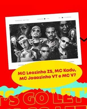 MC Leozinho ZS, MC Kadu, MC Joaozinho VT e mais juntos em uma faixa. Ouça