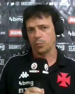"""VASCO: Diniz se anima com a possibilidade de enfrentar o Cruzeiro com público em São Januário: """"Precisamos do apoio do nosso torcedor"""""""
