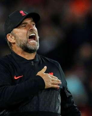 Klopp determina que Liverpool não pode perder mais pontos