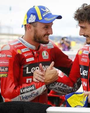 """Miller promete ajudar Bagnaia na briga pelo título da MotoGP """"se aparecer oportunidade"""""""