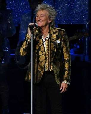 "Rod Stewart divulga a música ""One More Time"""