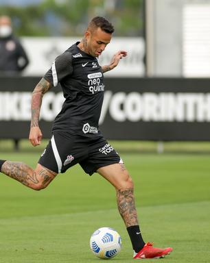 Recuperado, Luan volta a treinar com elenco do Corinthians