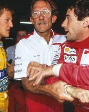 """Senna via Schumacher como """"muito estrela"""" na F1 de 1993"""