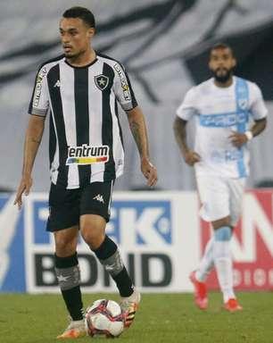 Luiz Henrique diz estar confiante para o jogo entre Botafogo e Náutico: 'Faremos uma grande partida'