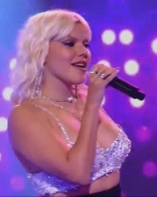 """Duda Beat faz cover de clássico da Britney Spears no """"Caldeirão do Mion"""""""