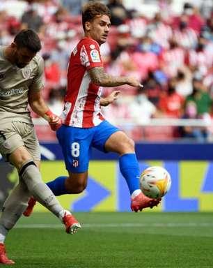Atlético de Madrid só empata com o Athletic Bilbao em casa
