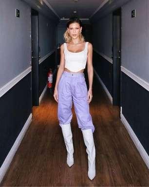 Inspire-se nos looks das famosas com bota branca!