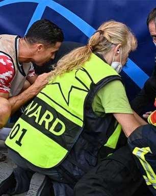 Brasileira nocauteada por Cristiano Ronaldo achou que tivesse morrido: 'Depois vi Ronaldo e a dor passou'