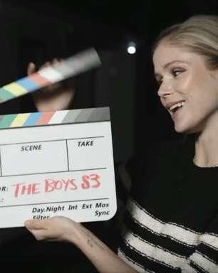 """Vídeo comemora final das gravações da """"melhor temporada"""" de """"The Boys"""""""