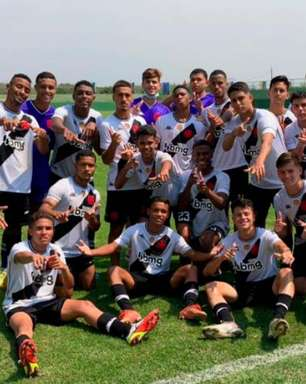 Time sub-17 do Vasco goleia, mas sub-15 perde para o Volta Redonda pelo Campeonato Carioca