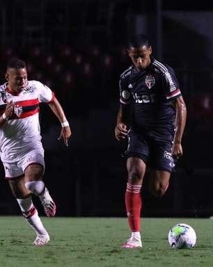 São Paulo nunca perdeu para o Atlético-GO no Morumbi; veja os jogos