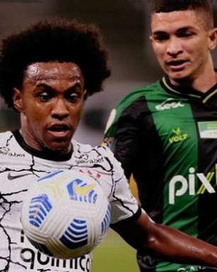 Willian vibra com reestreia pelo Corinthians, e diz buscar melhor forma: 'Ainda preciso ganhar ritmo'