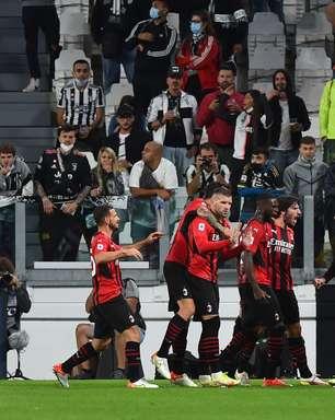 Milan busca empate e amplia jejum da Juventus no Italiano