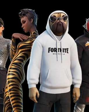 Fortnite recebe roupas e acessórios oficiais Balenciaga