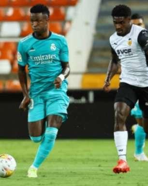 Destaque contra o Valencia, Vinícius Jr. celebra vitória