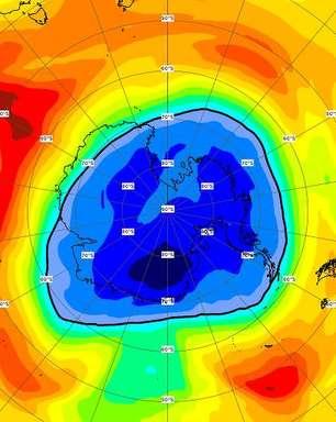 Buraco maior que Antártida é registrado na camada de ozônio