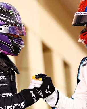 "Chefe da Mercedes quer ""calibrar"" atitude de Russell para evitar atrito com Hamilton"