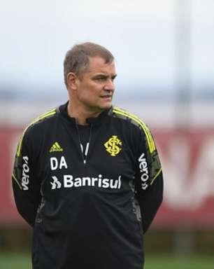 Aguirre vibra com vitória do Internacional sobre o Fortaleza