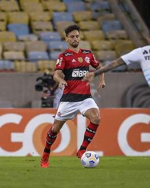 Rodrigo Caio será desfalque na próxima partida do Flamengo no Brasileirão