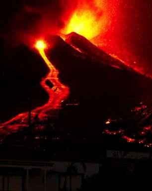 Vulcão nas Canárias: as impressionantes imagens da erupção no Parque Cumbre Vieja