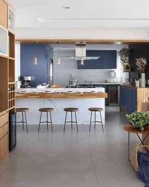 Sala e Cozinha Americana: Conheça as Vantagens +63 Projetos Inspiradores