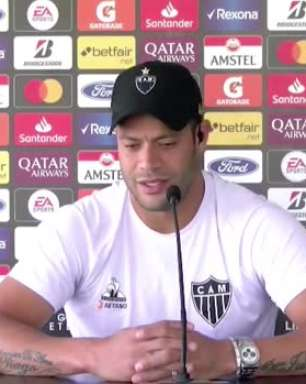ATLÉTICO-MG: Hulk explica como se cuida de lesões com jogos excessivos na temporada brasileira
