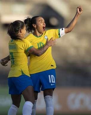 Pia elogia atuação do ataque da Seleção contra a Argentina