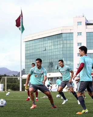 Com Fred e André, mas sem Manoel, Fluminense se reapresenta antes de jogo com o Red Bull Bragantino