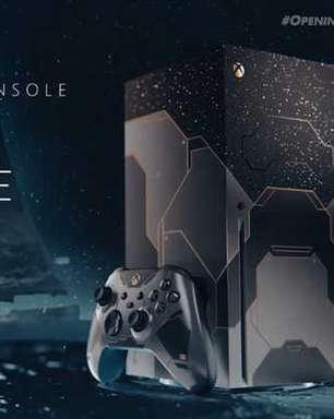Xbox Series X de Halo será lançado no Brasil mas R$ 1 mil mais caro