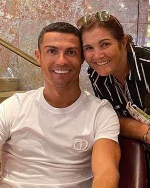Mãe de Cristiano Ronaldo revela em qual clube deseja de ver filho e neto jogando juntos