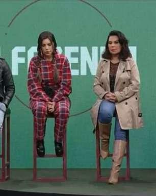 'A Fazenda 13': Nego do Borel, Liziane, Solange e Erika estão na 1ª roça