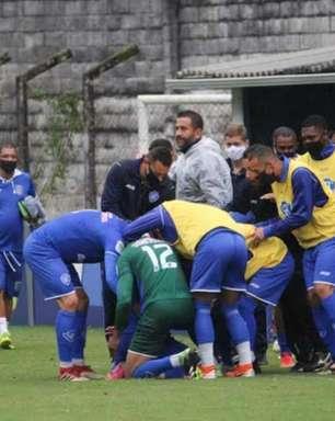 Serrano estreia em casa com vitória na Série B1 do Carioca, e Carlinhos explica golaço: 'Foi calculado'