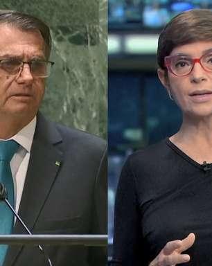"""Renata Lo Prete """"janta"""" Bolsonaro e expõe vexame do presidente na ONU"""