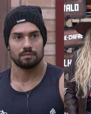 """Bil Araújo é """"punido"""" e ataca Erika: """"Não tem maturidade"""""""