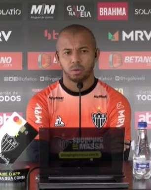 ATLÉTICO-MG: Mariano comenta empate sem gols contra o Palmeiras pela Libertadores e 'vira a chave' para duelo contra o São Paulo pelo Brasileiro