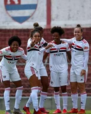São Paulo goleia o Nacional e chega ao G4 do Paulista Feminino