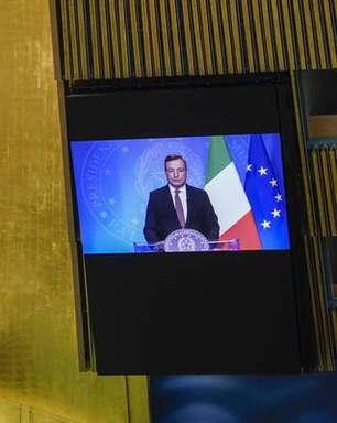 Draghi defende multilateralismo na ONU e confirma G20 sobre Afeganistão
