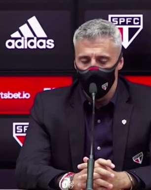 SÃO PAULO: Crespo explica escolha por titulares no empate diante do América e avalia jogo no Morumbi