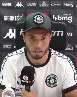 """VASCO: Morato comenta sobre carga nos treinos de Fernando Diniz, e clama para o torcedor acreditar no acesso: """"Vamos até o final, continuem acreditando"""""""