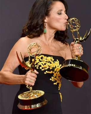 Julia Louis-Dreyfus será mãe de Jonah Hill em comédia com Eddie Murphy