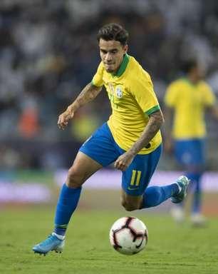 Tite exalta Coutinho e espera contar com ele na Seleção futuramente: 'Torço para que retome seu padrão'