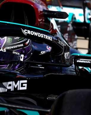 """Hamilton mira 1-2 da Mercedes com punição a Verstappen em Sóchi: """"Temos de aproveitar"""""""