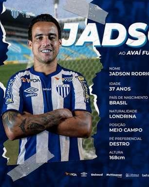 Avaí anuncia a contratação do meio-campista Jadson