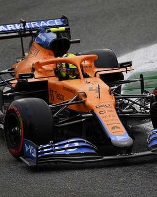 """Norris crê em McLaren mais fraca em Sóchi que em Monza: """"Somos menos competitivos"""""""